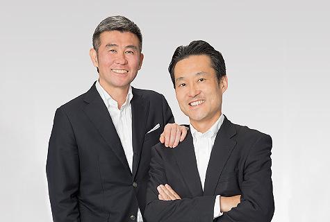 左:飯野将人 右:堤孝志